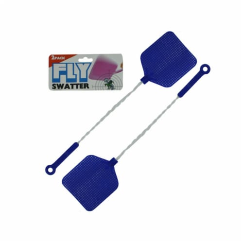 Bulk Buys GM057-24 16'' 2 Piece Fly Swatter Value Pack - Pack of 24 Perspective: front