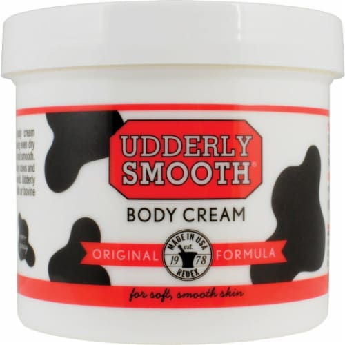Udderly Smooth Body Cream Perspective: front