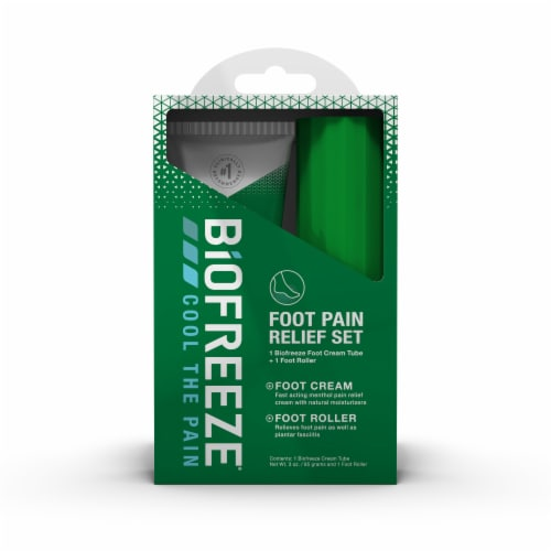 Biofreeze Foot Care Kit Perspective: front