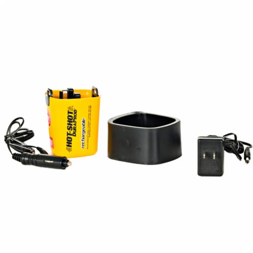 Miller Manufacturing Hot Shot DuraProd 4pc Rechargeable Battery Replacement Kit Perspective: front