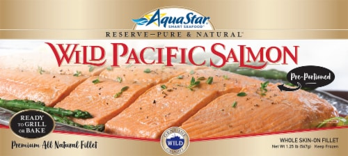 Aqua Star Salmon Fillet Perspective: front