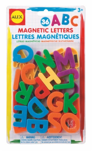 Alex Art ABC Magnetic Letters Perspective: front