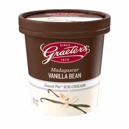 Graeter's Madagascar Vanilla Bean Ice Cream Perspective: front