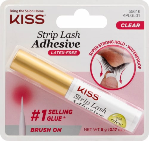 Kiss Premium Clear Eyelash Adhesive Perspective: front