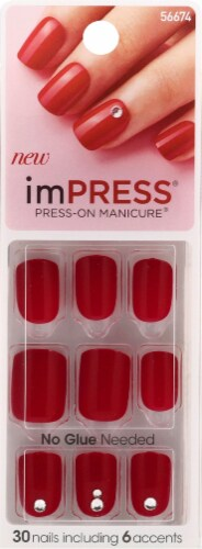 imPRESS Tweetheart Press-On Manicure Kit Perspective: front