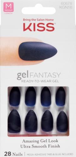 Kiss Gel Fantasy Bookworm Nail Kit Perspective: front