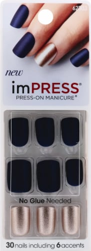 imPress Bells & Whistle Press-on Manicure Perspective: front