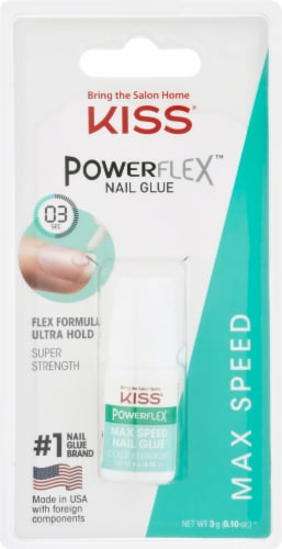 Kiss Powerflex Max Speed Nail Glue Perspective: front