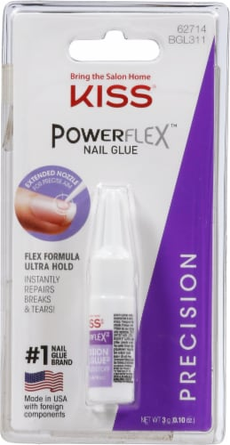 Kiss Powerflex Precision Nail Glue Perspective: front