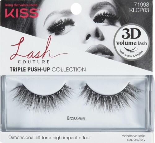 Kiss Lash Couture Triple Push-Up Collection Brassiere False Lashes Perspective: front