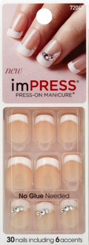 imPress Queen B Press-On Manicure - 30 Count Perspective: front