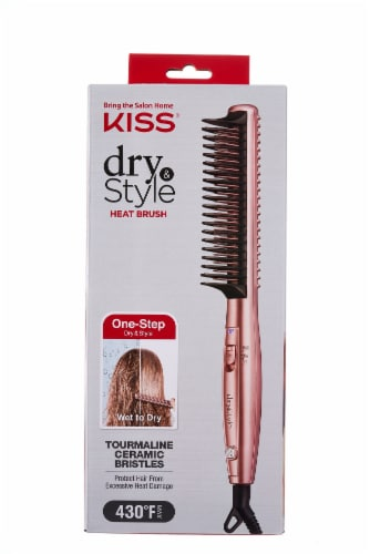 Kiss Dry & Style Heat Brush Perspective: front