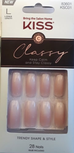 Kiss Classy Be-you-tiful Press On Nails Perspective: front