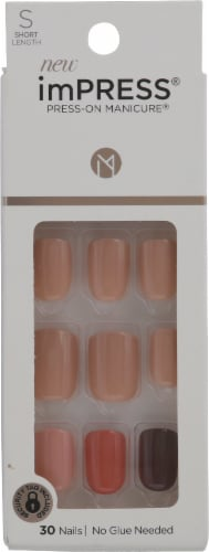 Kiss imPRESS Before Sunset Press-On Manicure Kit Perspective: front