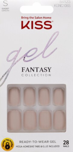 Kiss Fantasy Collection Here I am Gel Nails Perspective: front