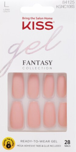 Kiss Fantasy Collection All About You Gel Nails Perspective: front
