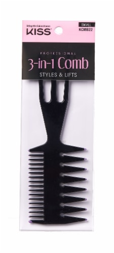 Kiss 3-in-1 Small Comb Perspective: front