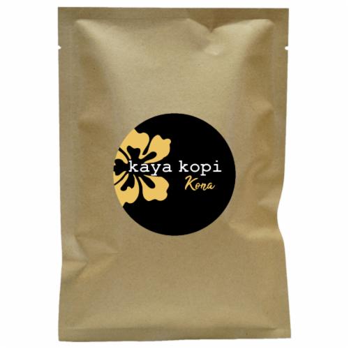Premium Kaya Kopi Kona From Kona Leste Islands Hybrid Robusta Arabica Coffee (200 Grams) Perspective: front