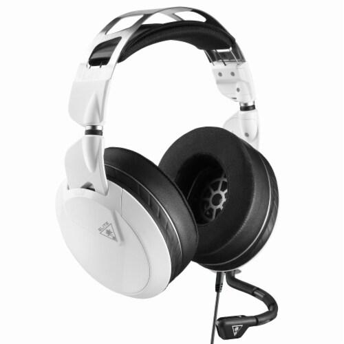 Turtle Beach Elite Pro 2 Pro White Multiplatform Headset Perspective: front