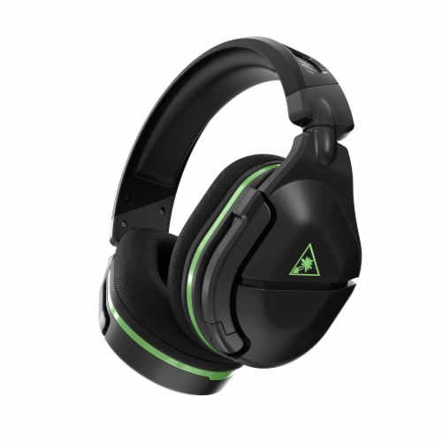 Turtle Beach Stealth 600 GEN 2 Xbox One & Xbox Series X Wireless Gaming Headset - Black/Green Perspective: front