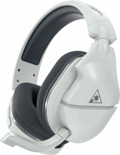 Turtle Beach Stealth 600 Gen 2 White/Silver Wireless Headset for Xbox Perspective: front