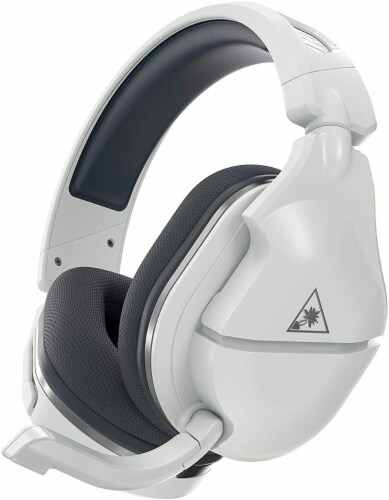 Turtle Beach Stealth 600 Gen 2 White/Silver Wireless Headset for PS Perspective: front