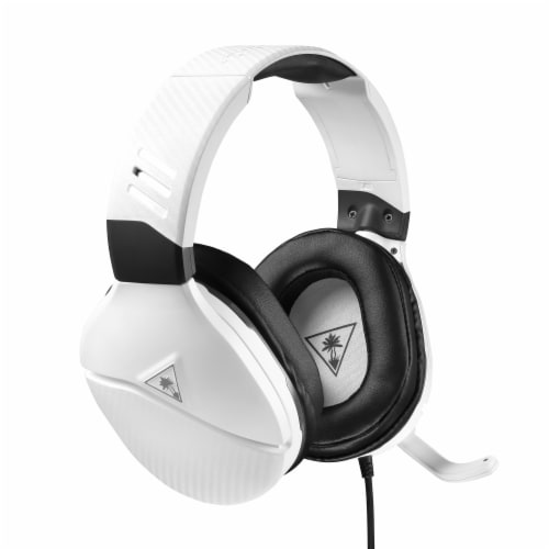Turtle Beach Recon 200 Gaming Headset - White Perspective: front