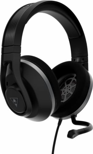 Turtle Beach Recon 500 Black Wired Powered Gaming Headset Perspective: front