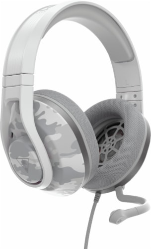 Turtle Beach Recon 500 Artic Camo Wired Powered Gaming Headset Perspective: front