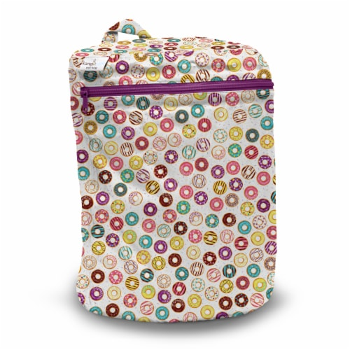 Kanga Care 3D Dimensional Seam Sealed Wet Bag Mini | Frosted Perspective: front