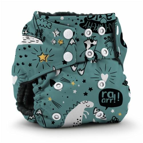 Kanga Care Rumparooz OBV One Size Pocket Cloth Diaper | Roam Free (6-40lbs) Perspective: front