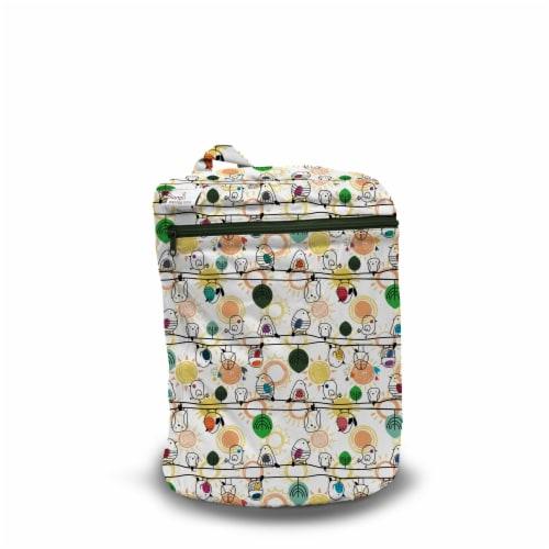 Kanga Care 3D Dimensional Seam Sealed Wet Bag Mini | Tweet Perspective: front