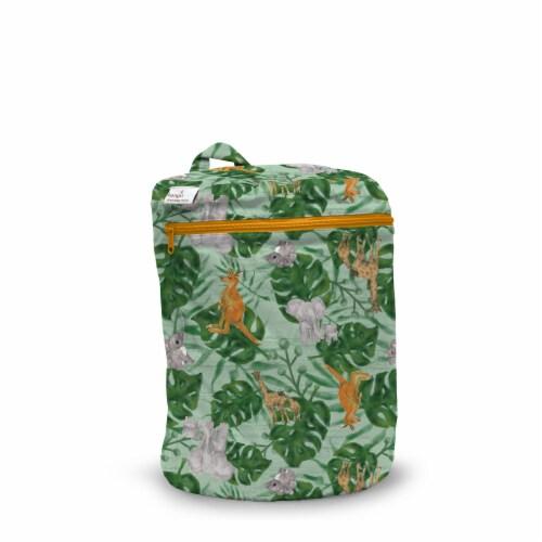 Kanga Care 3D Dimensional Seam Sealed Wet Bag Mini | RooZoo Perspective: front