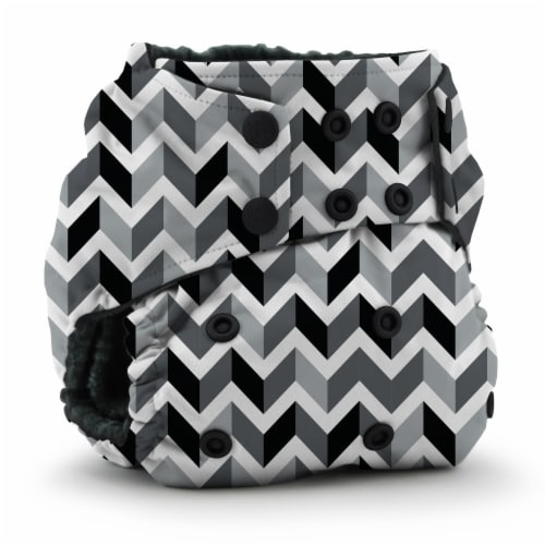 Kanga Care Rumparooz OBV One Size Pocket Cloth Diaper | Zev (6-40lbs) Perspective: front