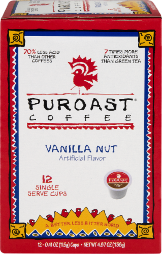 Puroast Vanilla Nut Single-Serve Cups Perspective: front