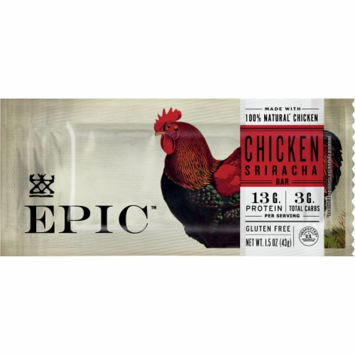 EPIC Chicken Sriracha Bar Perspective: front