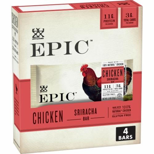 EPIC Chicken Sriracha Bars Perspective: front