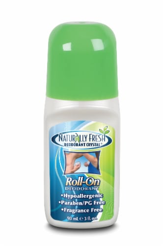 Naturally Fresh Crystal Roll On Deodorant Perspective: front