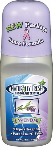 Naturally Fresh  Roll On Deodorant Crystal Lavender Perspective: front