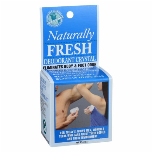 Naturally Fresh Crystal Deodorant Perspective: front