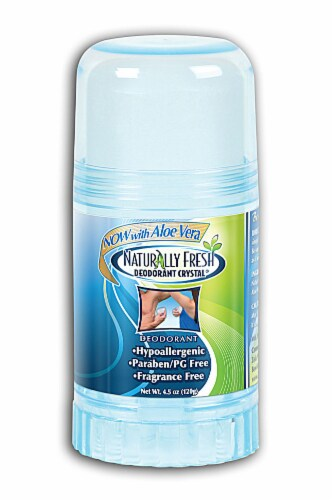 Naturally Fresh  Deodorant Crystal Blue Stick Perspective: front