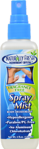 Naturally Fresh Crystal Deodorant Spray Perspective: front