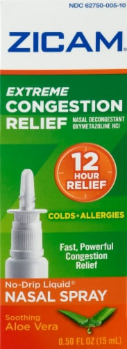 Zicam Extreme Congestion Relief Nasal Spray Perspective: front