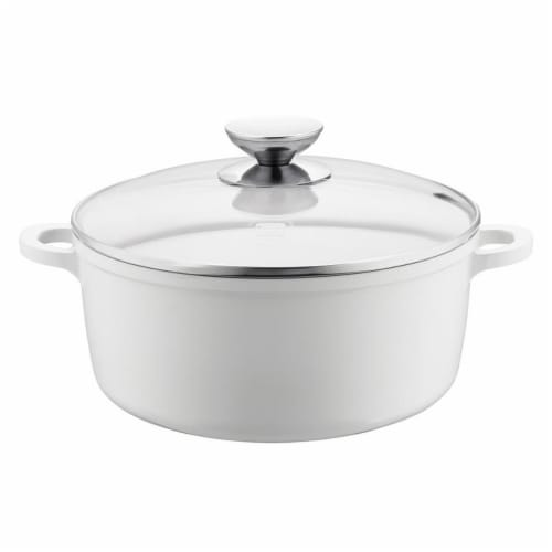 Range Kleen Vario Click Pearl Induction Dutch Oven Perspective: front