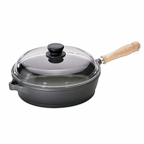 Range Kleen 11.5 in. Tradition Induction Saute Pan Perspective: front