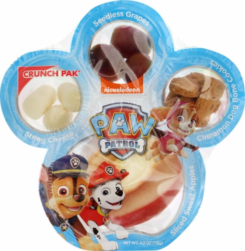Paw Patrol Crunch Snack Pak Perspective: front