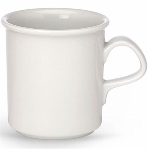 Dansk Cafe Blanc Dinnerware Mug Perspective: front