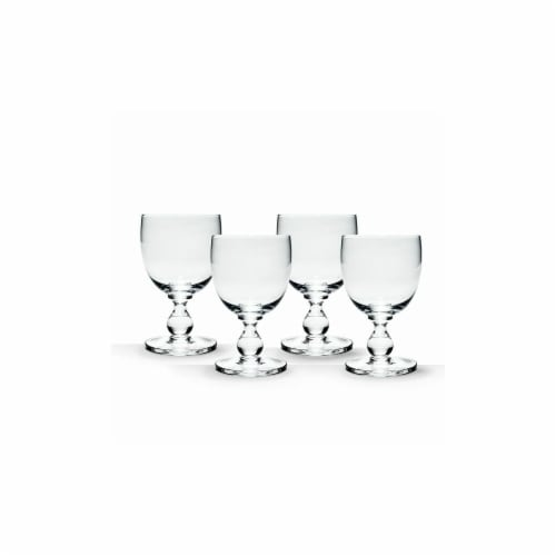 Dansk Hanna Clear Goblet, Set Of 4 Perspective: front
