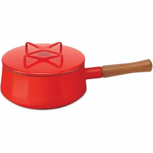 Dansk Kobenstyle Chili Red Sauce Pan Perspective: front