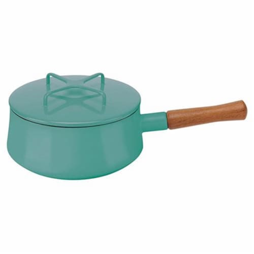 Dansk Kobenstyle Teal Sauce Pan Perspective: front